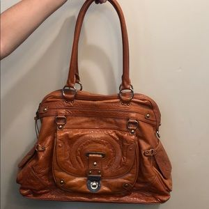Hayden-Harnett Trophy Leather Tote